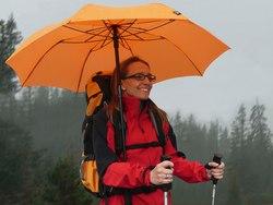 Wanderschirme erobern die Bergwelt