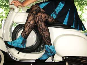 Gamaschen ein sexy Accessoire der Designerin Romy Kraft