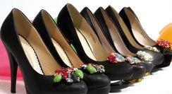 [title] - Ob extravagant oder schlicht, Schuhschmuck wie Clipse, Applikationen, Schmucksteine & Co verwandeln jedes paar Schuhe - vom Sneaker bis zum Pumps - in individuelle Einzelstücke.