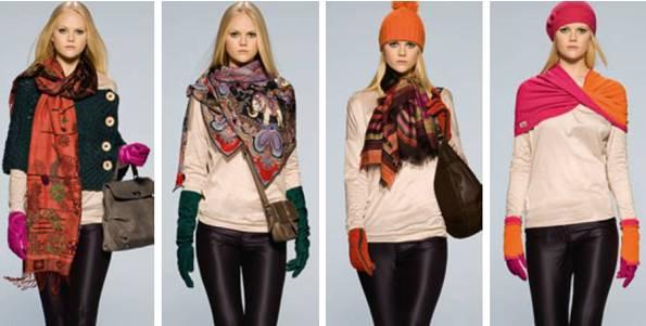 Accessoires von Roeckl. Handschuhe, Schals, Mützen in bunten Farben setzen starke Akzente