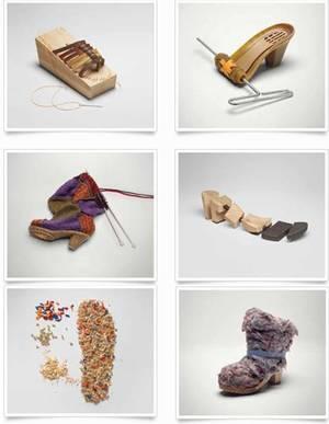 Art Kreativwettbewerb Schuhe