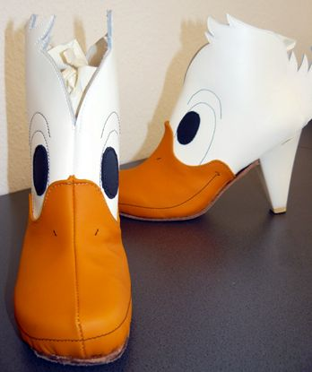 Crazy Schuhe verrückte Schuhe von Christine Weichselbaum