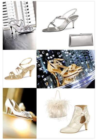 Brautschuhe von Nina Fiarucci