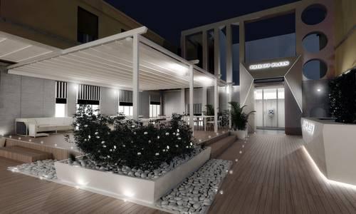 Philipp plein exklusiver club in mailand die welt der for Terrazza design