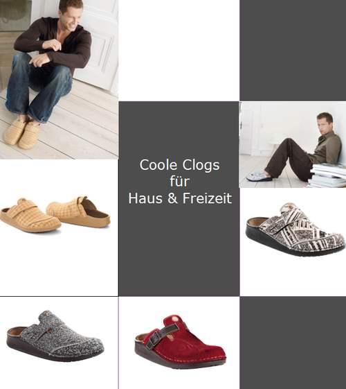 stilvolle herren clogs f r haus und freizeit die welt. Black Bedroom Furniture Sets. Home Design Ideas