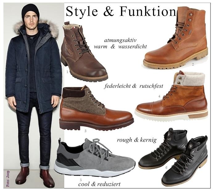 herrenschuhe winterstiefel und boots fuer maenner die welt der schuhe. Black Bedroom Furniture Sets. Home Design Ideas