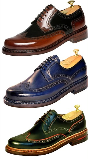 Budapester Herrenschuhe, Buday Shoes, Klassische Herrenschuhe aus Budapest