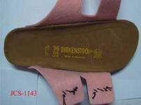 Gefälschte Birkenstock-Sandalen  -