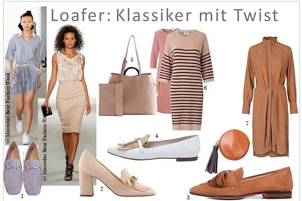 c80ffa02f26d3f Trend  Damen-Loafer Frühjahr-Sommer 2018