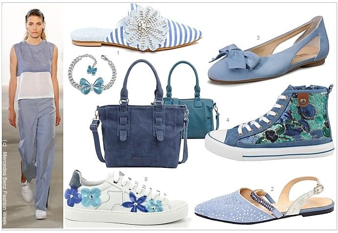 blaue sommer schuhe sind vielseitig und wandelbar die welt der schuhe. Black Bedroom Furniture Sets. Home Design Ideas