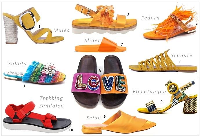 Schuhtrends Fruehjahr Sommer 2019 > Die Welt der Schuhe