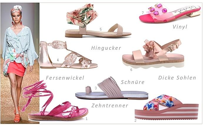 Flats: flache Sandalen fuer den Sommer > Die Welt der Schuhe