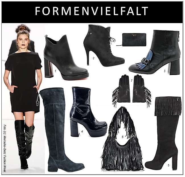 Schwarze stiefel for Herbst trends 2016