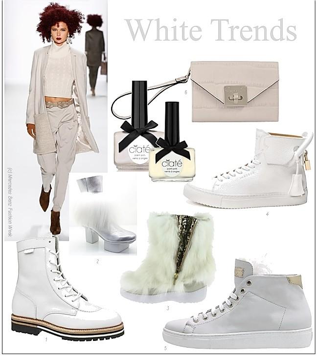 trend schuhe und stiefel in winterweiss und creme die welt der schuhe. Black Bedroom Furniture Sets. Home Design Ideas