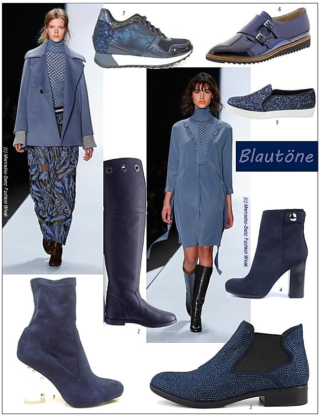 Blaue schuhe und stiefel die trends im herbst und winter for Herbst trends 2016