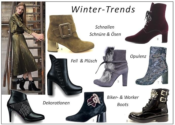 Ankleboots: die neuesten Trends