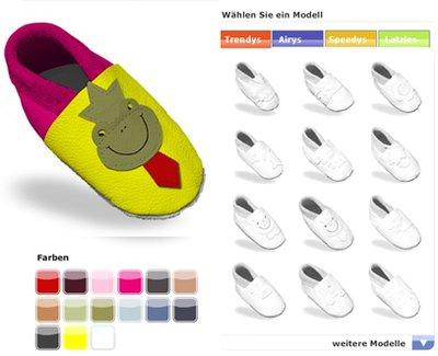 check out dbae7 4f339 Babyschuhe selber gestalten > Die Welt der Schuhe