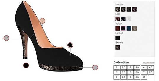 best sneakers f8218 b1c3c Peter Kaiser Schuhe selbst gestalten > Die Welt der Schuhe