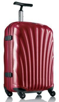 Samsonite hartschalenkoffer Rot Cosmolite