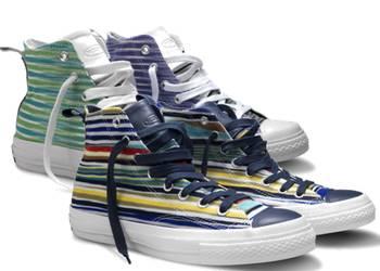 Converse und Missoni Sneaker