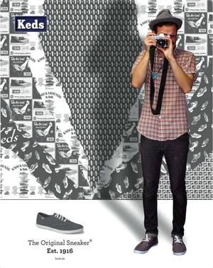 Keds Schuhe Schuhe von Keds, Sneaker von Keds, Schaufenster-Kampagne Keds
