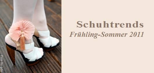 Schuhtrends Frühling Sommer 2011