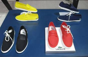 Lacoste Sommerschuhe 2011