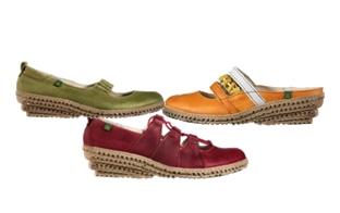 El Natura Lista Schuhe mit Keilabsatz