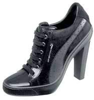 Sexy: High-Heel-Sneaker von Sergio Rossi