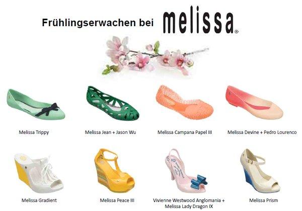 new products 9d718 88f4b Melissa Sommerschuhe: Design aus Kunststoff > Die Welt der ...