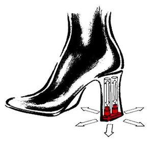 Tamaris: Absatz Schuhe mit Stossdaempfer > Die Welt der Schuhe