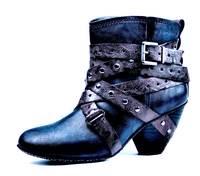 Blaue Ankleboots von s.Oliver