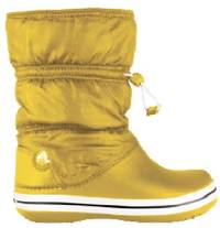Crocs Winterboot in Gelb