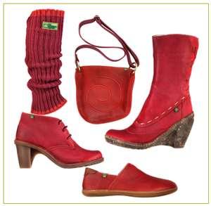El Natura Lista Schuhe und Stiefel erhalten jetzt Gesellschaft mit den passenden Accessoires wie Taschen und Stulpen