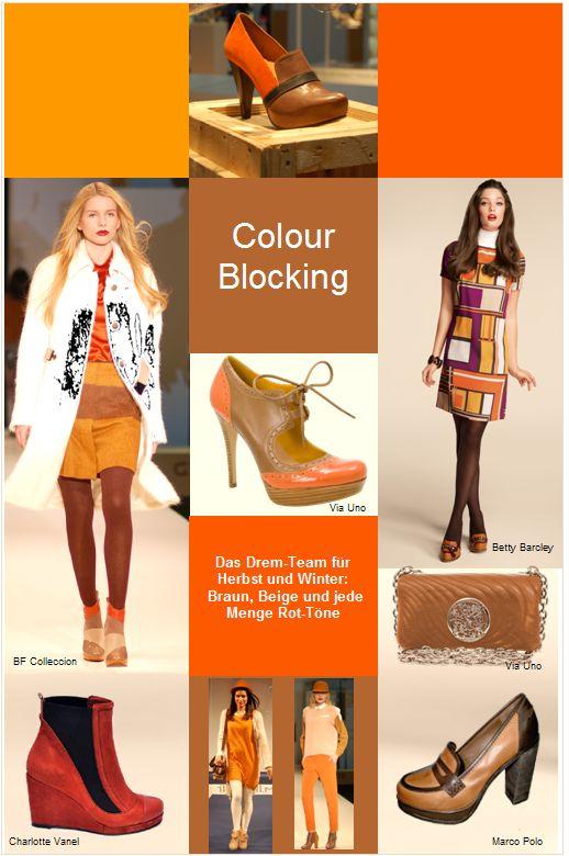 Colourblocking ist das Thema für Schuhe und Stiefel im Herbst-Winter 2012_2013