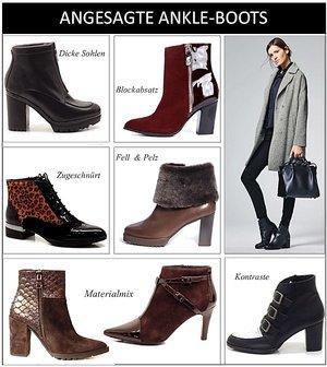 title ankle boots und stiefeletten liegen im trend passend zu den angesagten fashion looks. Black Bedroom Furniture Sets. Home Design Ideas