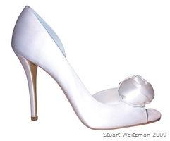 Brautschuhe von Stuart Weitzman