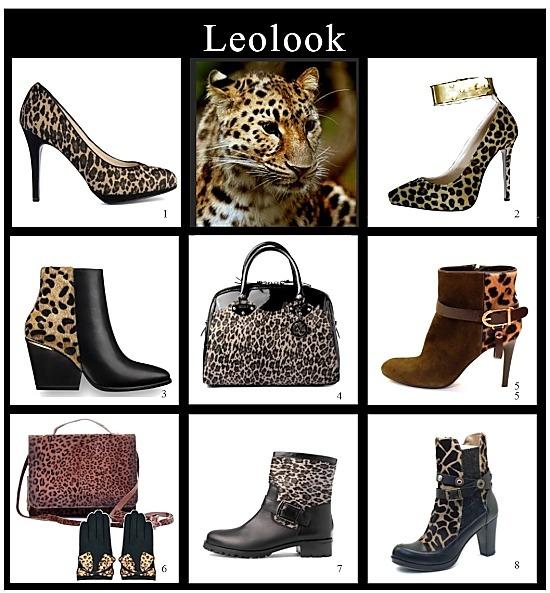 leolook trendige schuhe und stiefel mit leopardenmuster die welt der schuhe. Black Bedroom Furniture Sets. Home Design Ideas