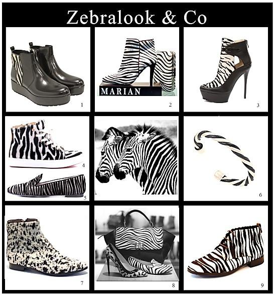 Zebralook: trendige Schuhe, Stiefel und Accessoires > Die