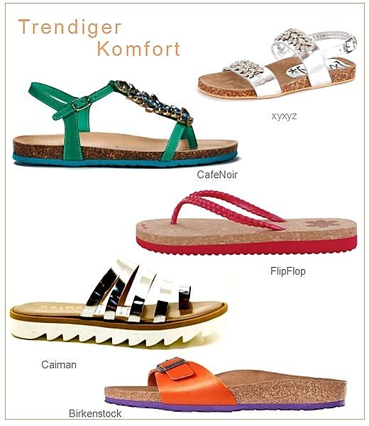 flats flache sandalen fuer den sommer die welt der schuhe. Black Bedroom Furniture Sets. Home Design Ideas